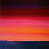 Summer Sunset by Ray Hill, Painting, Acrylic on canvas