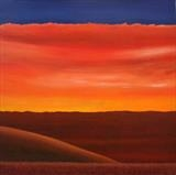Sunset 2015 by Ray Hill, Painting, Acrylic on canvas